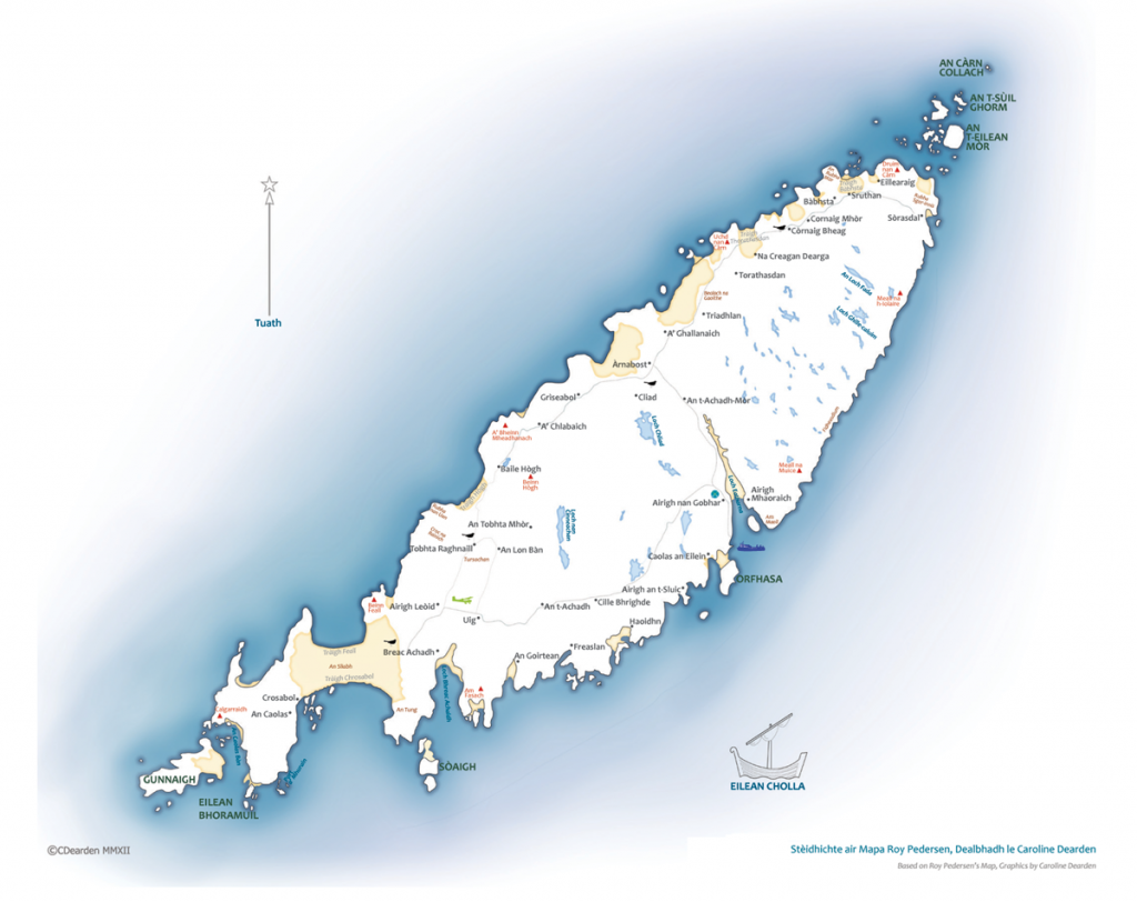 Map of Coll